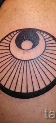 Фото тату круг для статьи про значение татуировки с кругом – tatufoto.ru – 47