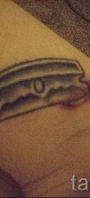 Фото тату лезвие – примеры для статьи про значение лезвия в тату – tatufoto.ru – 13