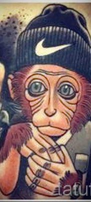 Фото тату обезьяна как пример для статьи про значение татуировки – tatufoto.ru – 8