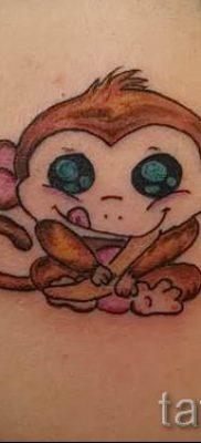 Фото тату обезьяна как пример для статьи про значение татуировки – tatufoto.ru – 13
