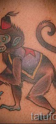 Фото тату обезьяна как пример для статьи про значение татуировки – tatufoto.ru – 20