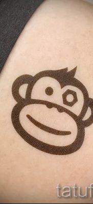 Фото тату обезьяна как пример для статьи про значение татуировки – tatufoto.ru – 22