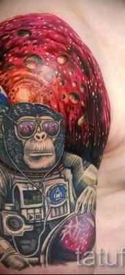 Фото тату обезьяна как пример для статьи про значение татуировки – tatufoto.ru – 26
