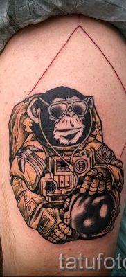 Фото тату обезьяна как пример для статьи про значение татуировки – tatufoto.ru – 27