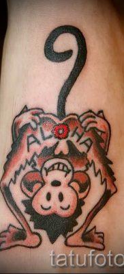 Фото тату обезьяна как пример для статьи про значение татуировки – tatufoto.ru – 32