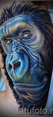 Фото тату обезьяна как пример для статьи про значение татуировки – tatufoto.ru – 45
