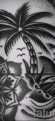 Фото тату пальма для статьи про значение татуировки пальма – tatufoto.ru – 10