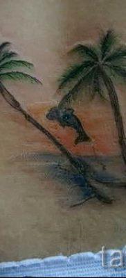 Фото тату пальма для статьи про значение татуировки пальма – tatufoto.ru – 28