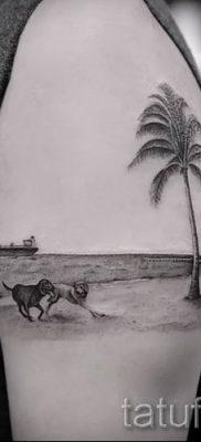 Фото тату пальма для статьи про значение татуировки пальма – tatufoto.ru – 39