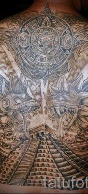 Фото тату пирамида для статьи про значение татуировки с пирамидой – tatufoto.ru – 18