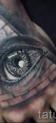 Фото тату пирамида для статьи про значение татуировки с пирамидой – tatufoto.ru – 28