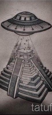 Фото тату пирамида для статьи про значение татуировки с пирамидой – tatufoto.ru – 52