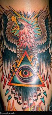Фото тату пирамида для статьи про значение татуировки с пирамидой – tatufoto.ru – 53