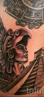 Фото тату пирамида для статьи про значение татуировки с пирамидой – tatufoto.ru – 54