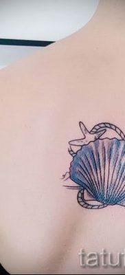 Фото тату ракушка для статьи про значение ракушки в татуировке – tatufoto.ru – 48