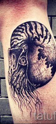 Фото тату ракушка для статьи про значение ракушки в татуировке – tatufoto.ru – 74