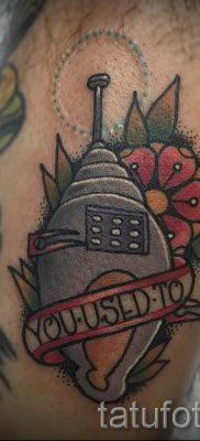 Фото тату ракушка для статьи про значение ракушки в татуировке – tatufoto.ru – 76