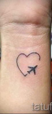 Фото тату самолет для статьи про значение татуировки с самолет – tatufoto.ru – 9