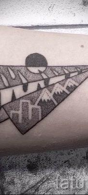 Фото тату самолет для статьи про значение татуировки с самолет – tatufoto.ru – 36