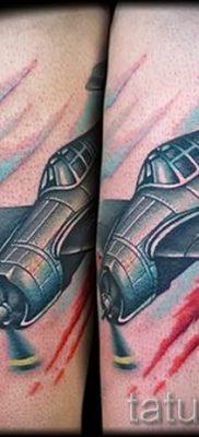 Фото тату самолет для статьи про значение татуировки с самолет – tatufoto.ru – 39