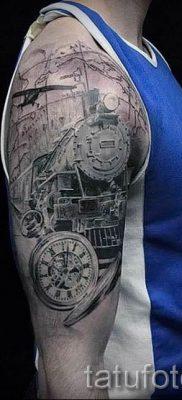 Фото тату самолет для статьи про значение татуировки с самолет – tatufoto.ru – 40