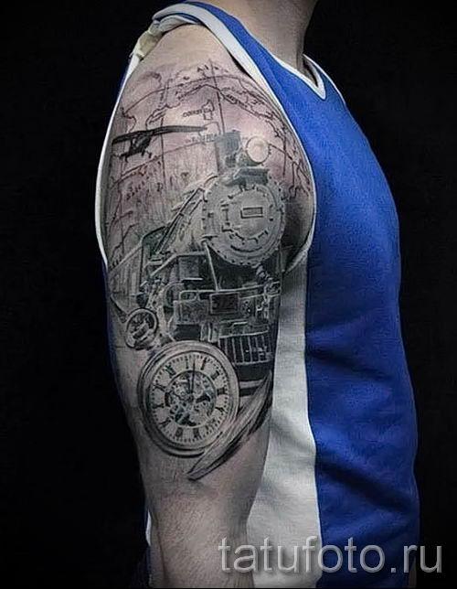 Фото тату самолет для статьи про значение татуировки с самолет - tatufoto.ru - 40