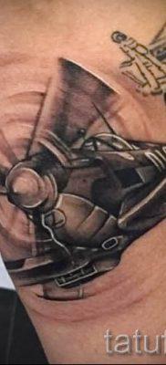 Фото тату самолет для статьи про значение татуировки с самолет – tatufoto.ru – 62