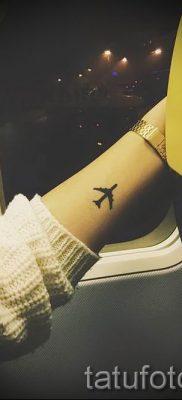 Фото тату самолет для статьи про значение татуировки с самолет – tatufoto.ru – 65