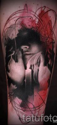 Фото тату свеча для статьи про значение татуировки со свечей – tatufoto.ru – 55