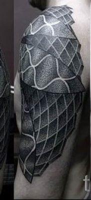 Фото тату спираль для статьи про значение татуировки с этим рисунком – tatufoto.ru – 3