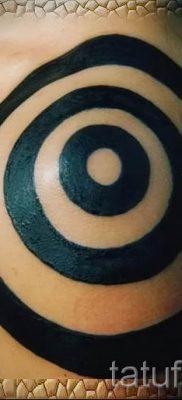 Фото тату спираль для статьи про значение татуировки с этим рисунком – tatufoto.ru – 14