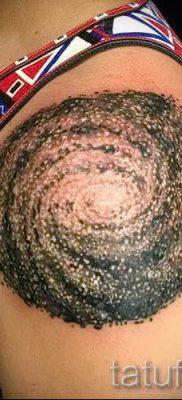 Фото тату спираль для статьи про значение татуировки с этим рисунком – tatufoto.ru – 23