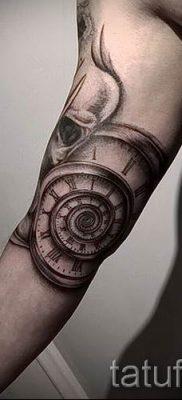 Фото тату спираль для статьи про значение татуировки с этим рисунком – tatufoto.ru – 33