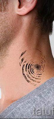 Фото тату спираль для статьи про значение татуировки с этим рисунком – tatufoto.ru – 34