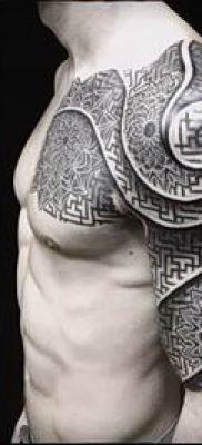 Фото тату спираль для статьи про значение татуировки с этим рисунком – tatufoto.ru – 57