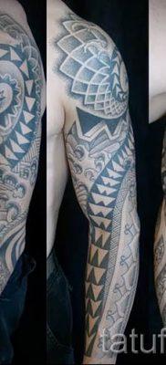 Фото тату спираль для статьи про значение татуировки с этим рисунком – tatufoto.ru – 67