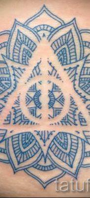 Фото тату тату дары смерти для статьи про значение рисунка татуировки – tatufoto.ru – 3