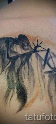Фото тату тату дары смерти для статьи про значение рисунка татуировки – tatufoto.ru – 52