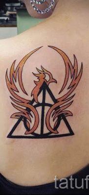 Фото тату тату дары смерти для статьи про значение рисунка татуировки – tatufoto.ru – 53
