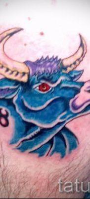 Фото тату телец для статьи про значение татуировки с рисунком телец – tatufoto.ru – 10