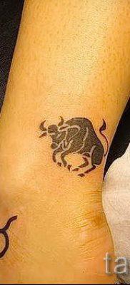 Фото тату телец для статьи про значение татуировки с рисунком телец – tatufoto.ru – 23