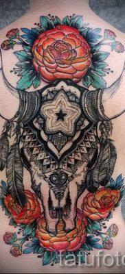Фото тату телец для статьи про значение татуировки с рисунком телец – tatufoto.ru – 35