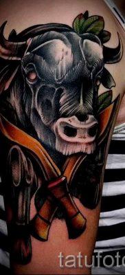 Фото тату телец для статьи про значение татуировки с рисунком телец – tatufoto.ru – 36