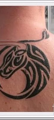 Фото тату телец для статьи про значение татуировки с рисунком телец – tatufoto.ru – 40