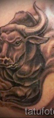 Фото тату телец для статьи про значение татуировки с рисунком телец – tatufoto.ru – 42