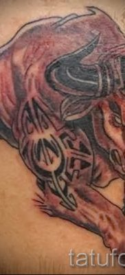 Фото тату телец для статьи про значение татуировки с рисунком телец – tatufoto.ru – 45