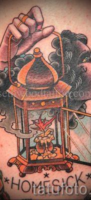 Фото тату фонарь для статьи про значение татуировки с фонарем – tatufoto.ru – 1