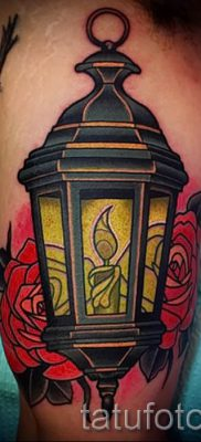 Фото тату фонарь для статьи про значение татуировки с фонарем – tatufoto.ru – 21