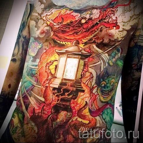 Фото тату фонарь для статьи про значение татуировки с фонарем - tatufoto.ru - 32