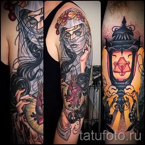 Фото тату фонарь для статьи про значение татуировки с фонарем - tatufoto.ru - 33